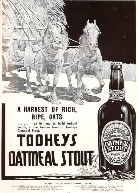 Tooheys Oatmeal Stout