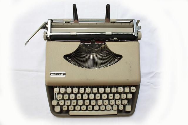 antares typewriter
