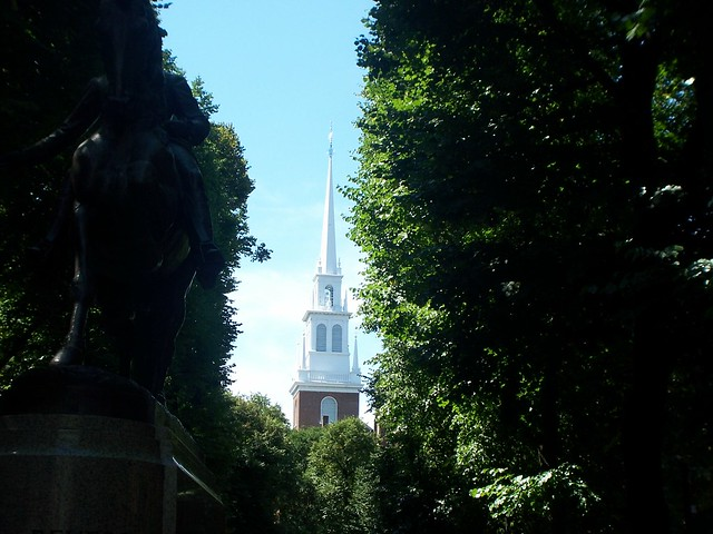 the old north church steeple