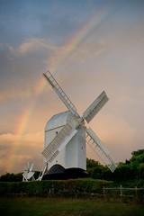 Jill Windmill and Rainbow