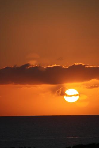 amanecer playas tunecinas