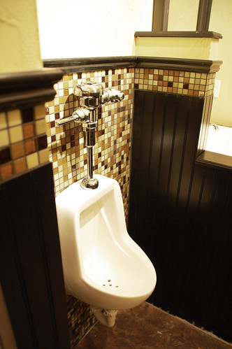 Man Cave With Urinal : Man cave bathroom style revealed diydiva