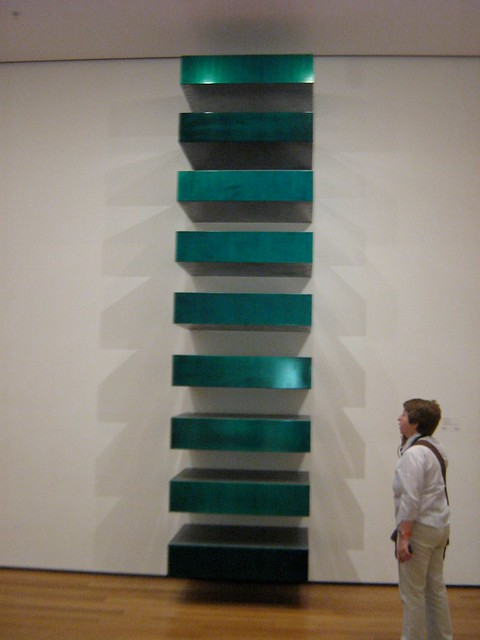 Untitled stack donald judd 1967 flickr photo for Donald judd stack 1972