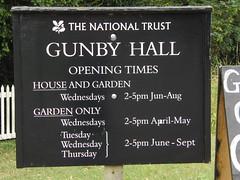 Gunby Hall, Lincolnshire.