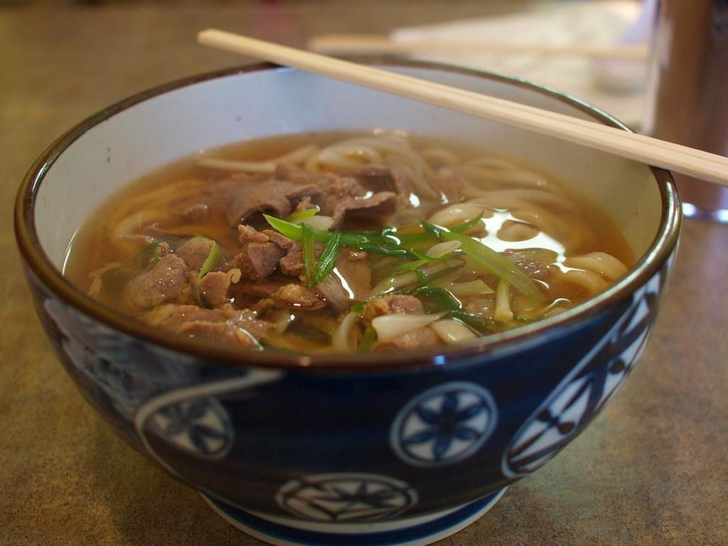 Calgary Banff Chaya Beef Udon Noodles