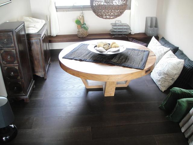 6寸海岛美国橡木烟熏浮雕推油木地板5