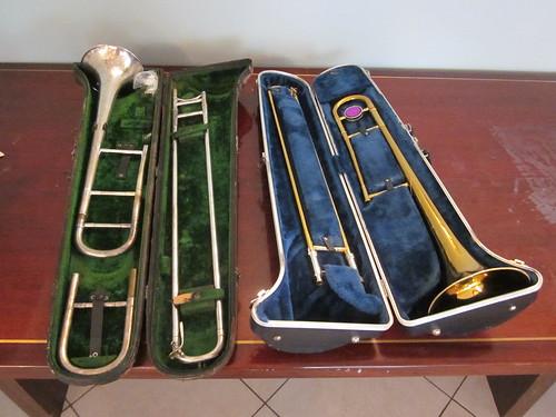 Trombone cases 2