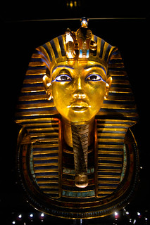 The mask of Tut Ankh Amun
