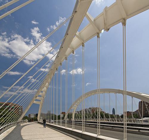 Bach of Roda Bridge, Barcelona, Spain