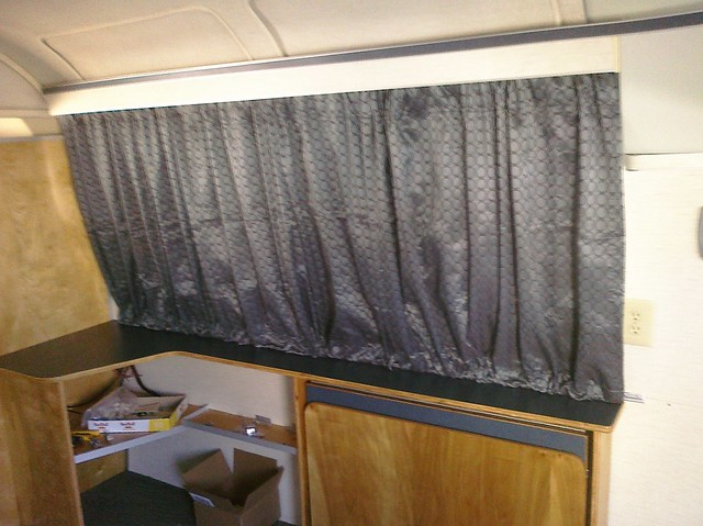 First Section Of Airstream Curtains Look Really Good