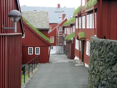 View of Tinganes, Torshavn