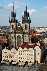 Church of Our Lady before Tyn, Prague (Aug 10)