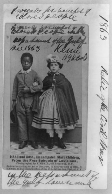 The Emancipation of Isaac & Rosa | 1863.