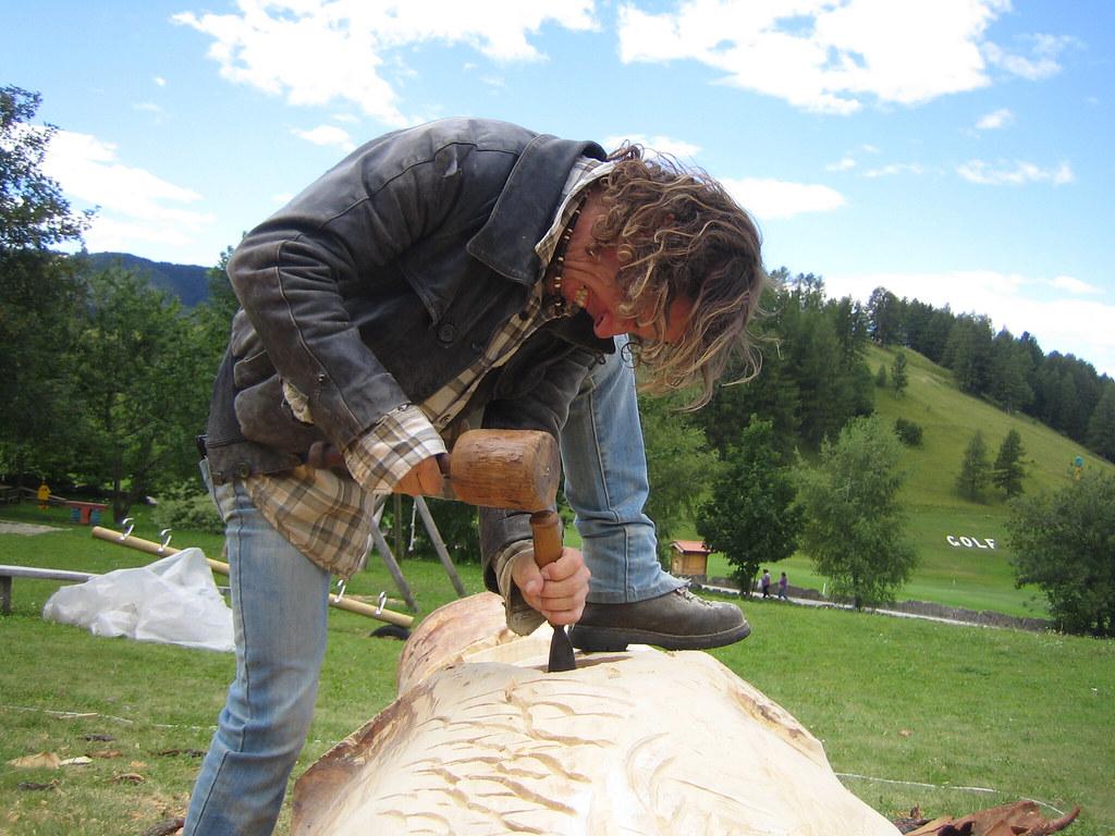 scultori del legno / Florian Grott