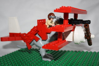 The Red Baron von Tauntaun