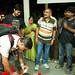 Nilesh ji cutting a cake at the end of the event by Gunjan Karun
