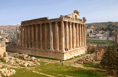 Temple of Bacchus, Baalbeck by www.menq.am
