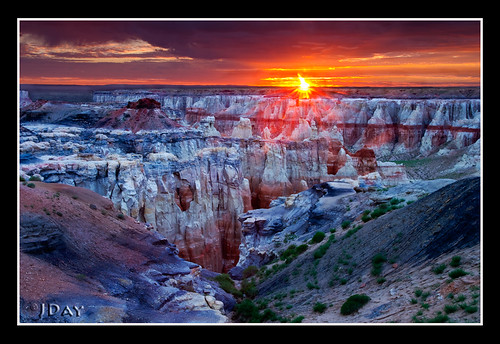 Coal Mine Canyon Sunrise