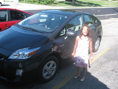 automobile, automotive exterior, vehicle, toyota prius, land vehicle,