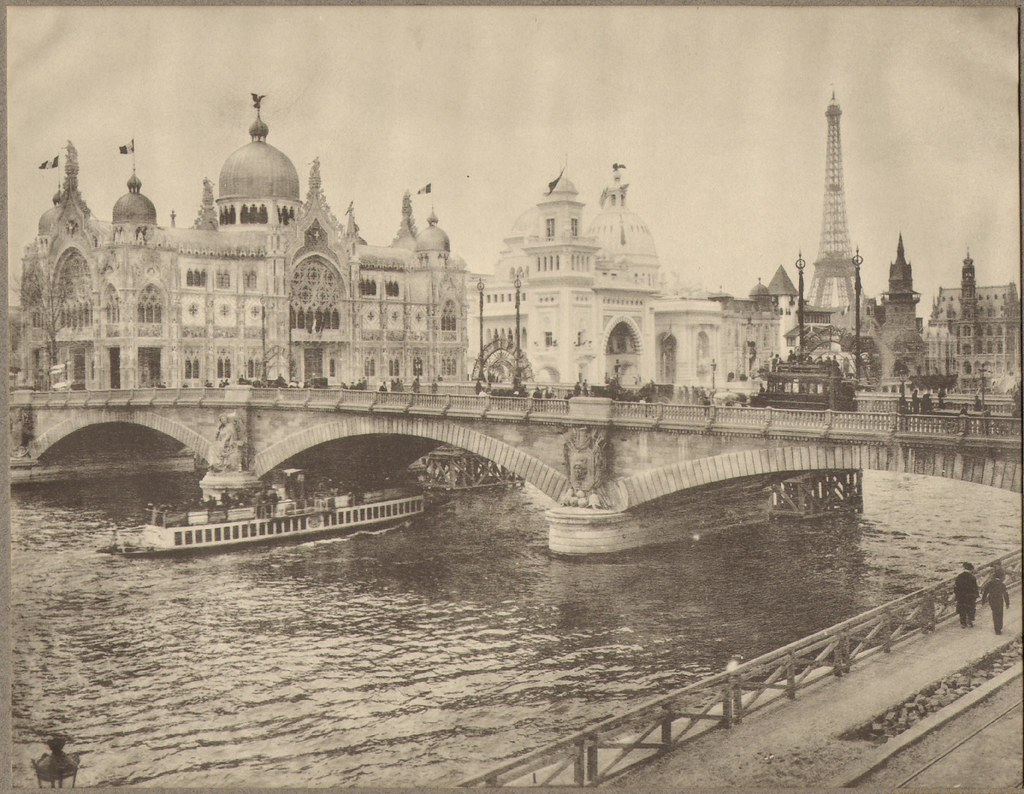 Paris Exhibition (Exposition Universelle): Invalides Bridge and Street of Nations