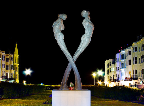 TAY - The Brighton and Hove Aids Memorial by Romany Mark Bruce 2009
