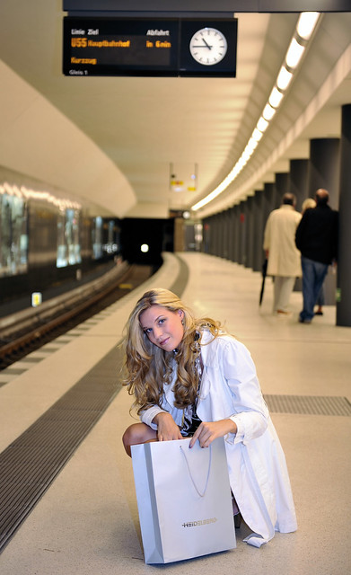 waiting for the train ....    mar1