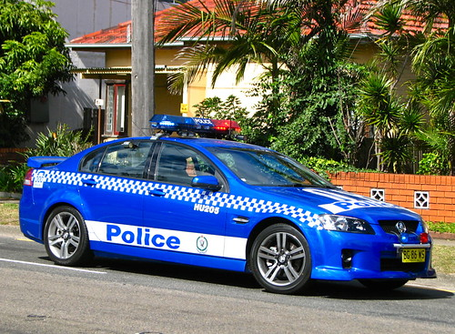 Hurstville 205 Commodore SS ANPR vehicle
