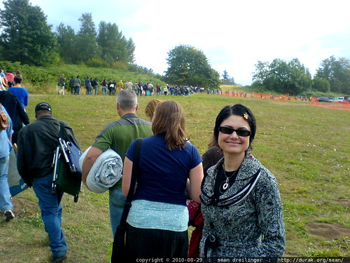 line to enter the concert   bob dylan & john mellencamp @ edgefield   2010 08 29   DSC03637