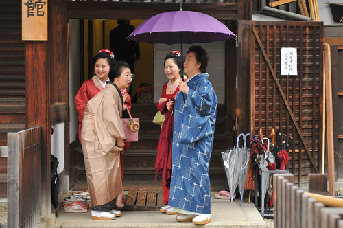 People in Kyoto