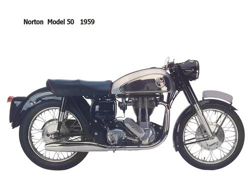 Norton Model 50 - 1959