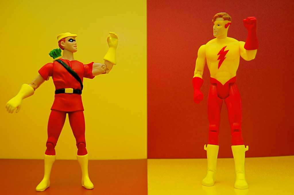 Speedy vs. Kid Flash (244/365)