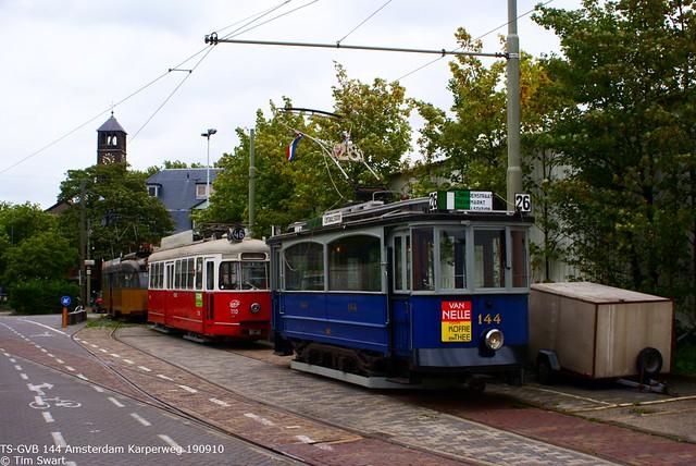TS-GVB 144 Amsterdam Karperweg 190910