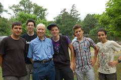 bob with boys