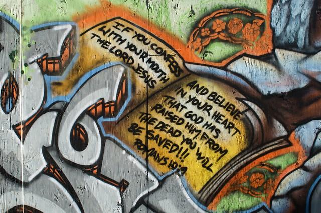 Gospel Graffiti II from Flickr via Wylio