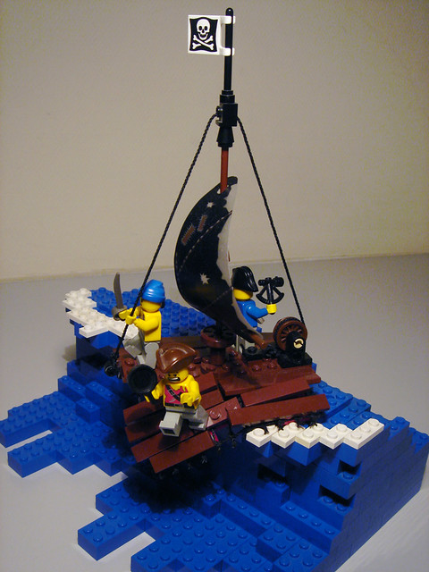 Pirate Raft 1
