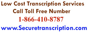 Low cost Transcription Services by transcriptionservices