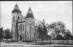 Methodist Church, Aurora, Ontario, Canada (1910)