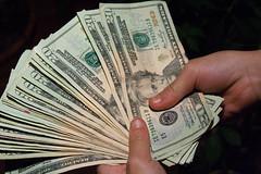 Money Hand Holding Bankroll Girls February 08, 20117