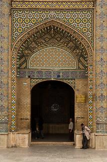 Entrance of Shazdeh Hosein Shrine