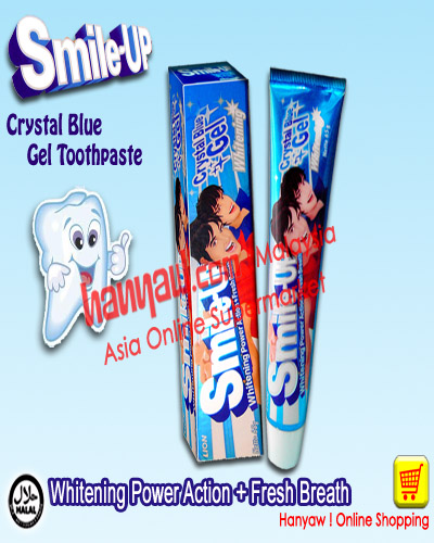 Online Shopping for Smile-Up Oral Care Gel Toothpaste Whitening Power Action + Fresh Breath (Crystal Blue Gel)