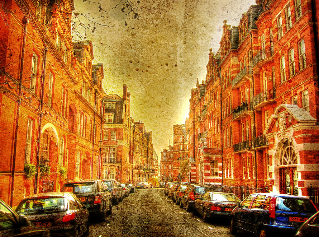 Knightsbridge London .. HDR