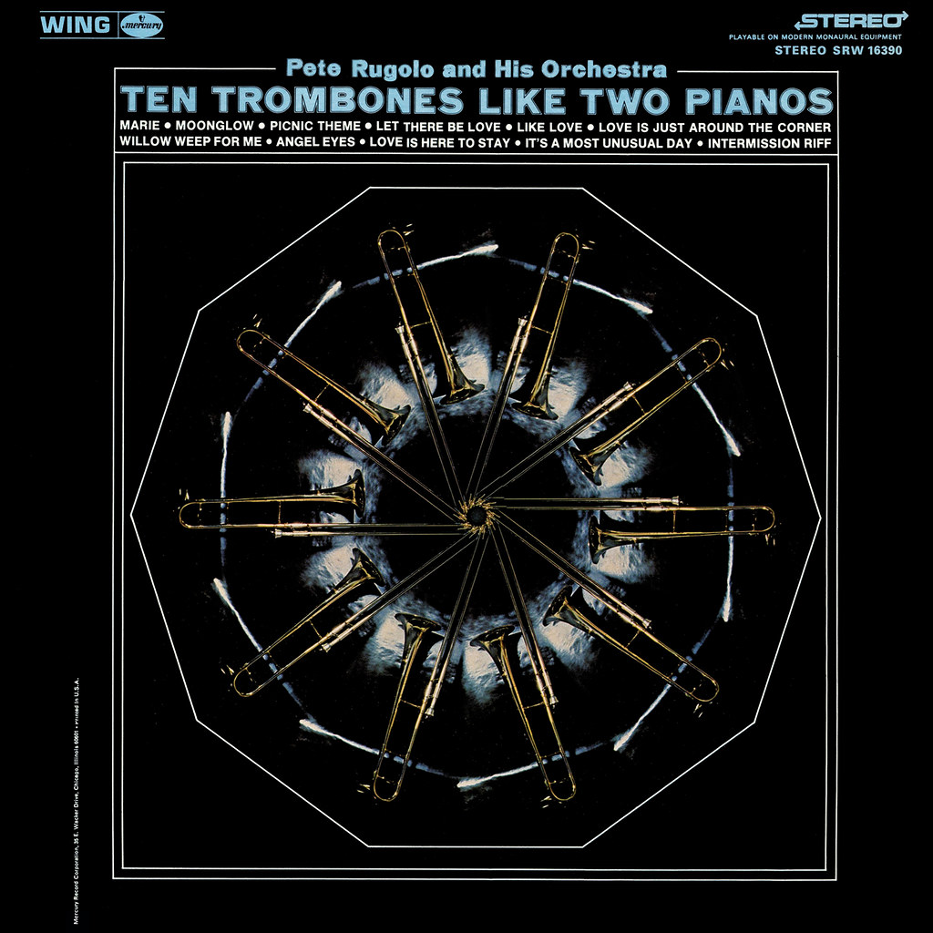 Pete Rugolo - Ten Trombones Like Two Pianos