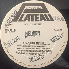 LOU CHRISTIE:GUARDIAN ANGELS(LABEL SIDE-B)