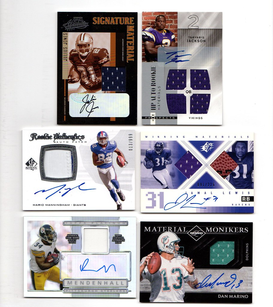 Cards Trading I'm Game-used amp; Autos Gu Forums For Blowout Your - Football Junk
