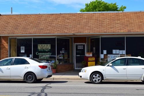 greyeagle minnesota smalltown library mainstreet usa