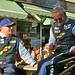 Miro Konopka and Horst Felbermayr Senior, Drivers of Team Felbermayr-Proton Porsche 997 GT3 RSR ©Dave Hamster