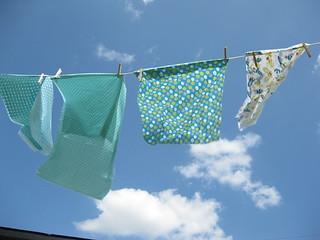 Drying Organic Fabric