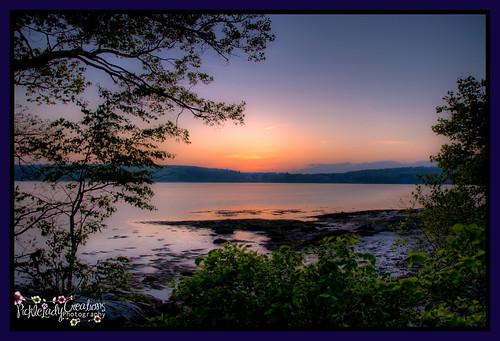 ocean sunset coast twilight nikon maine scenic yarmouth hdr sunsetpoint d90 18105mm