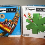Retro Bullfrog PC games (retail boxes) - Theme Park & Theme Hospital