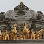 The Quadriga and Capitol Dome - Minnesota State Capitol